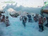 Fiesta de la espuma de colores - foto