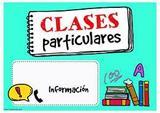 CLASES PARTICULARES PRIMARIA E INFANTIL