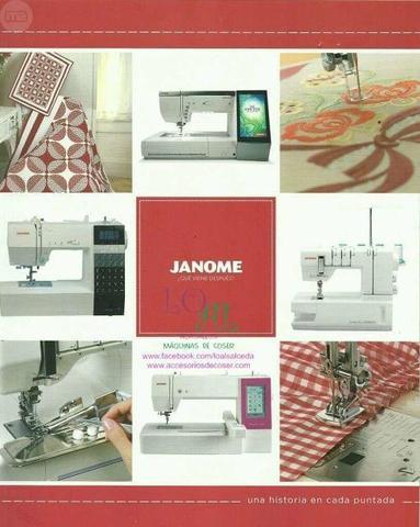 Maquina de coser Janome - foto 1