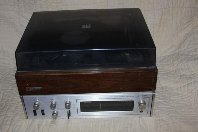 Tocadiscos y amplificador  onkyo - foto 1