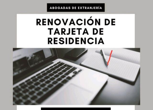 Renovación de tarjeta de Residencia  - foto 1