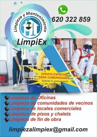 limpieza Almendralejo - foto 1