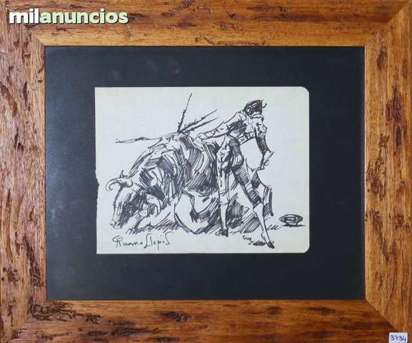 Dibujo de carlos ruano llopis - toreando - foto 1