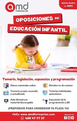 OPOSICIONES EDUCACIÓN INFANTIL ANDALUCÍA - foto 1