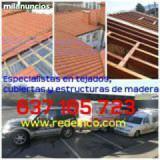 Especialistas tejados,estructuras madera - foto