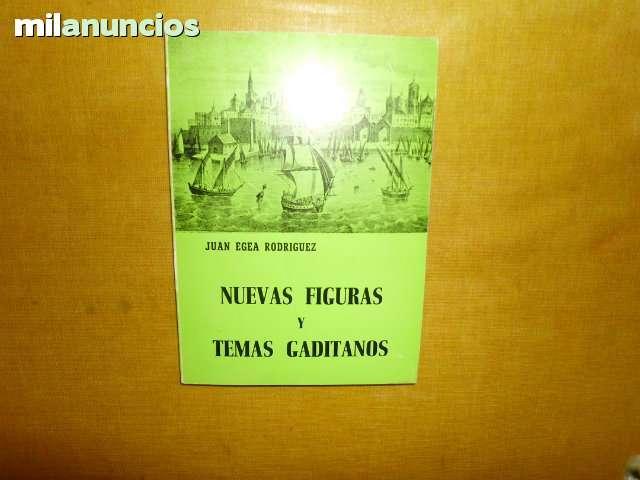 Libro nuevas figuras y temas gaditanos - foto 1