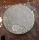 MONEDA PLATA 12 EUROS 2004