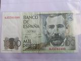 1000 PESETAS PEREZ GALDOS