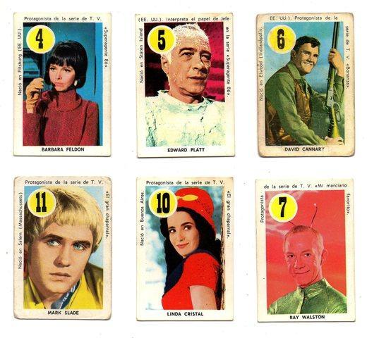 ASES Y ESTRELLAS (Fher 1.969) 6 cartas. - foto 1