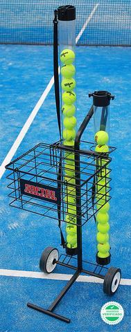 Carro portapelotas tenis / padel 80 pelo - foto 1