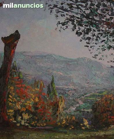 Cuadro de solano - paisaje de la rioja - foto 1
