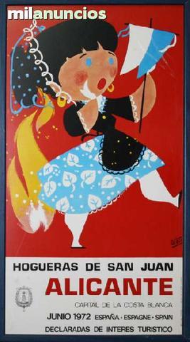 Cartel de hogueras de san juan 2010 alc - foto 1