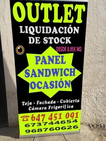 Abierto en yecla panel sandwich      (1) - foto 1
