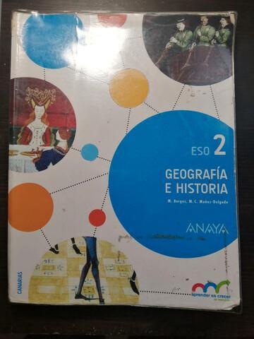 Libro Geografía Historia 2 ESO ANAYA - foto 1