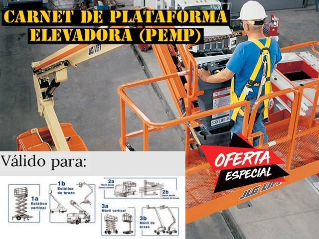 Carnet Plataforma/carretilla Elevadora - foto 1