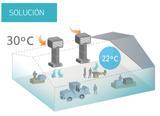 ClimatizaciÓn naves agrÍcolas - foto