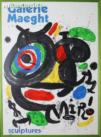 Joan mirÓ - galerie maeght, sculptures - foto 1