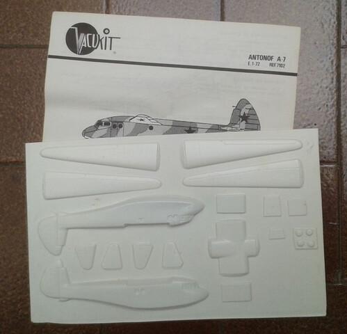 Maqueta 1:72 Antonov A-7 Vacukit - foto 1