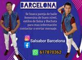 BUSCO CHICA PAREJA DE BAILE(BCN)2021