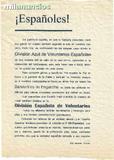 DIVISION AZUL. PASQUIN DE ENGANCHE. 1941