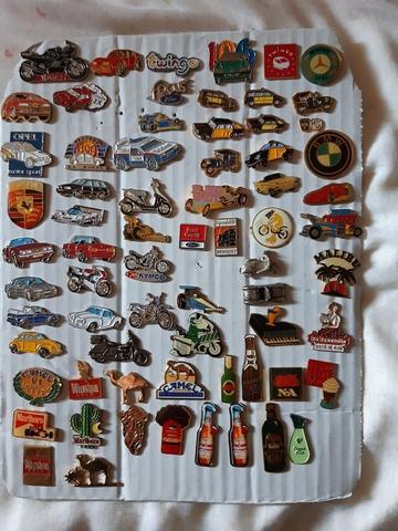 Pins coches, motos, tabaco y bebidas - foto 1