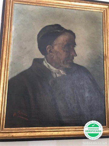 Pintura Maximino Peña. Firmada Siglo XIX - foto 1