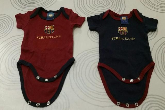 Lote body bebé azulgrana F.C. Barcelona - foto 1