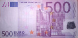 500 EUROS PRIMERA FIRMA DUISEMBERG,T001