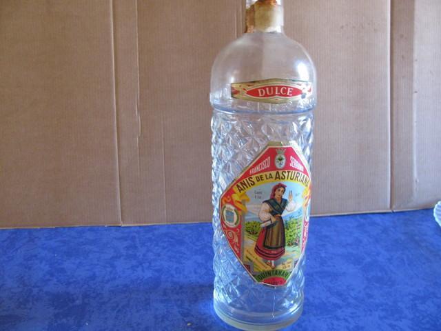 Botella anís  La Asturiana - foto 1