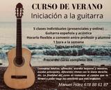 GUITARRA - CURSO DE VERANO