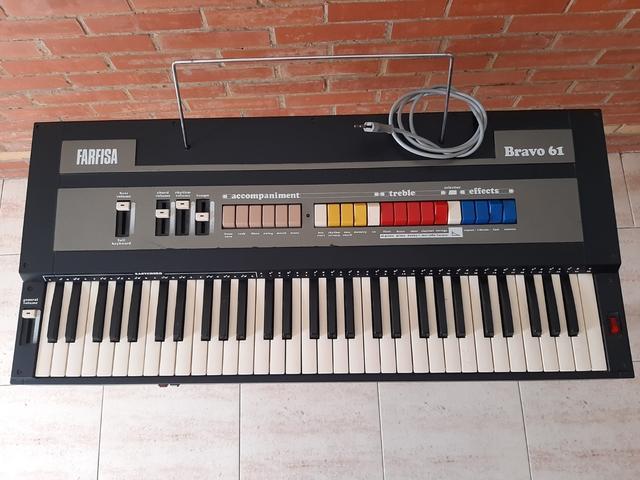 teclado farfisa bravo 61 - foto 1