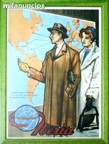 Cartel iberia, estampa investigaciÓn - foto 1