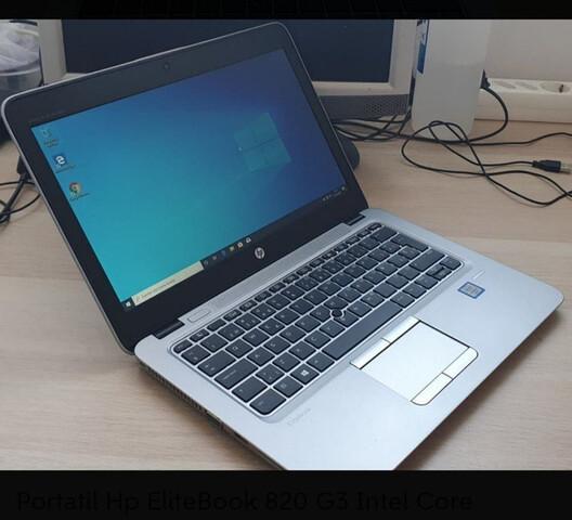 HP 820 G3 I5 6300U 8RAM 128 ssd m.2 - foto 1
