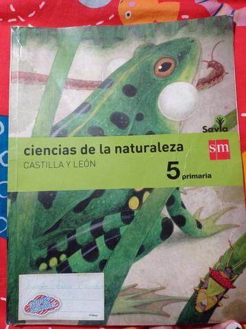 Libro Ciencias naturales 5° primaria. - foto 1