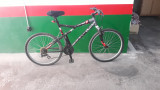 Bicicleta con amortiguador - foto