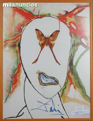 Salvador dalÍ - mariposa - foto 1