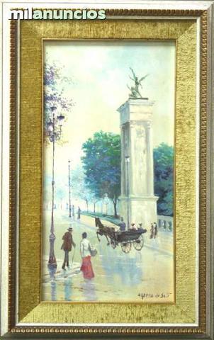 Pintura de alfredo de sait, vista urbana - foto 1