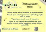 CLASES DE CANTO, PIANO, EXTRAESCOLARES