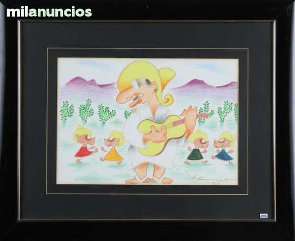 Dibujo de mejicano (xavier cugat) - foto 1
