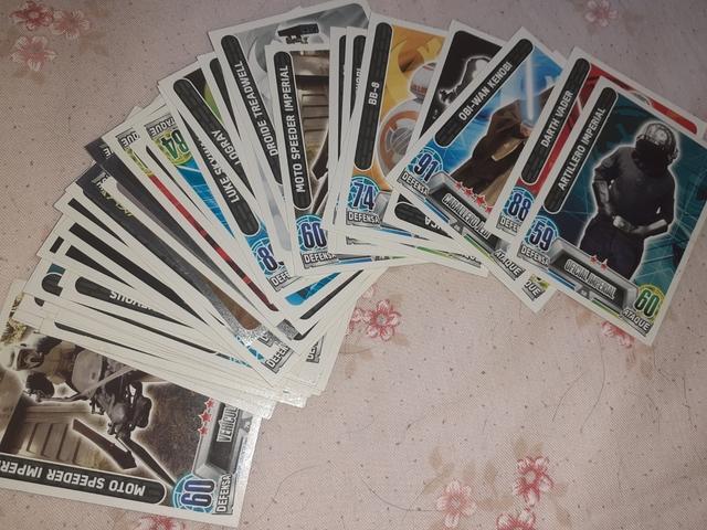 coleccion cartas star wars - foto 1
