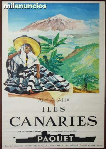 Cartel turÍstico de illes canaries - foto 1