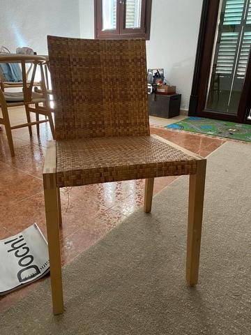 Regalamos silla de madera - foto 1