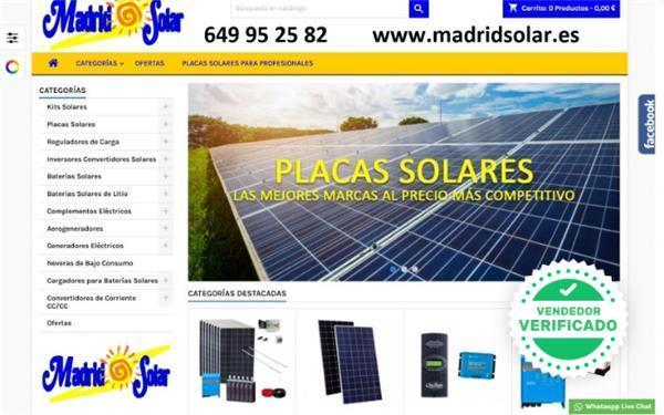 Placas solares litio huawei - foto 1