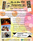 Fotomaton para comuniones - foto
