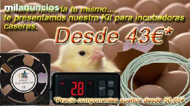 Kit para incubadora casera AKO D14123 - foto 1