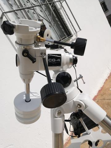 Montura celestron cg-4 motorizada - foto 1