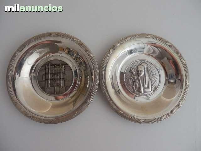 Platos antiguos de plata - foto 1