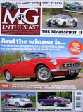 REVISTAS MG ENTHUSIAST & MG SAFETY FAST