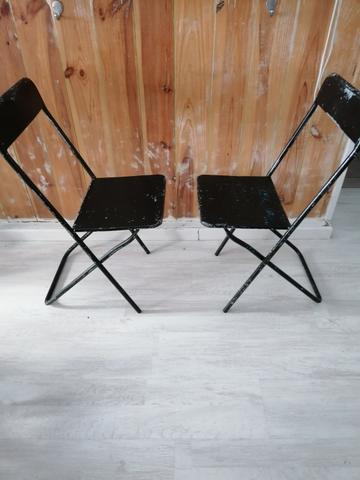 2 sillas vintage de jardin - foto 1
