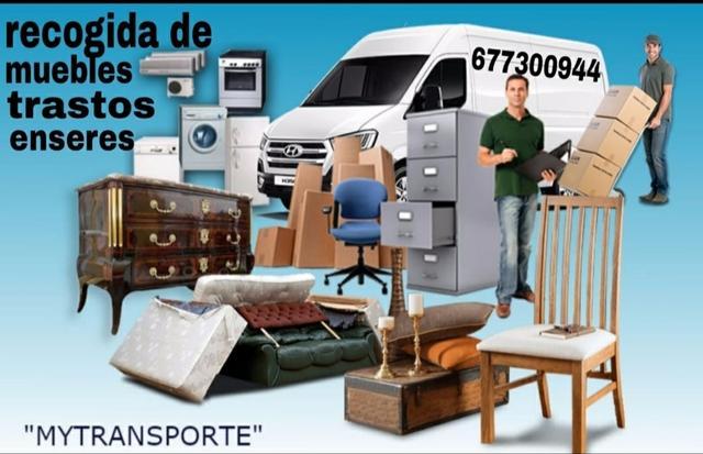 recogida de muebles en Madrid - foto 1